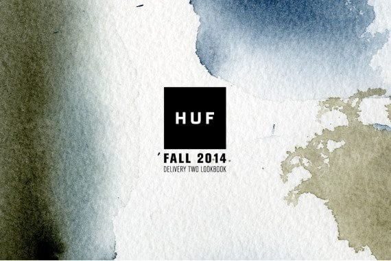 HUF 2014 Fall Lookbook Front
